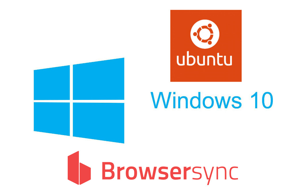 Ubuntu Windows and Browsersync